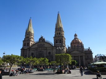 Main cathedral in Guadalajara