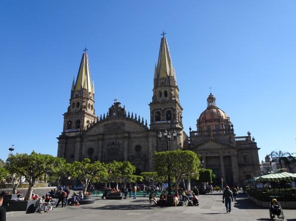 Main cathedral in Guadalajara