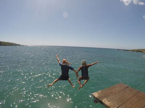 Making a splash at Rio Hondo