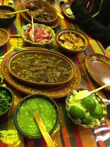Local fare in Guadalajara