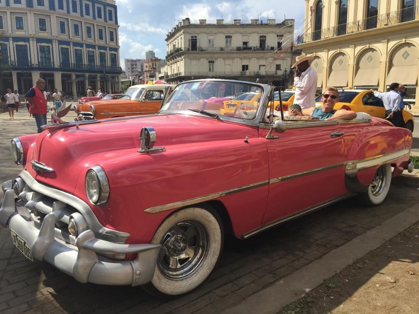 Birthday capers in Havana