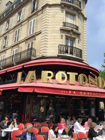 Lunching in Montparnasse