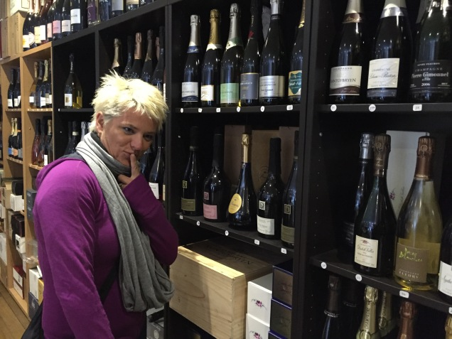 A whole shop dedicated to champagne. Now who's coming home with me?